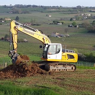 Terrassement pour construction de maison